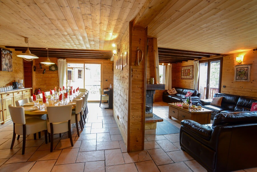 catered chalet parellou la plagne